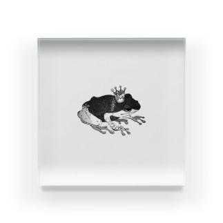 蛙 Acrylic Block