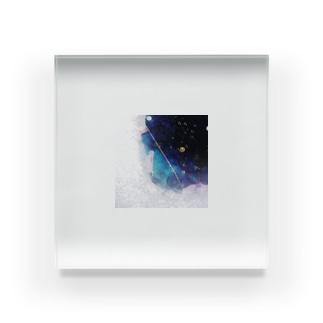 雨の夜 Acrylic Block