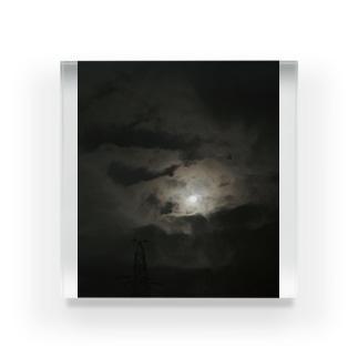 荒野の夜空 Acrylic Block