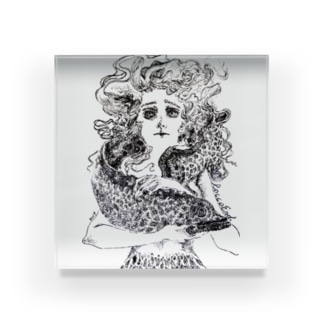 海の魔女 Acrylic Block
