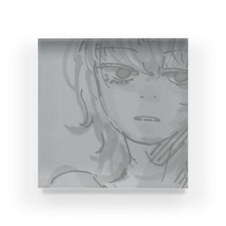 すみいろ Acrylic Block