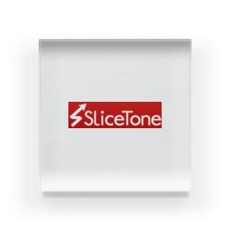 Slicetone Red Acrylic Block