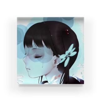 少女 Acrylic Block