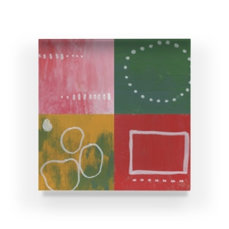 4 Acrylic Block