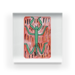 ナナフシ Acrylic Block