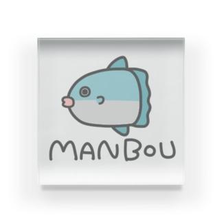 MANBOU(色付き) Acrylic Block