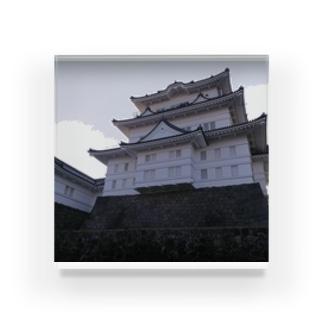 城(小田原) Acrylic Block