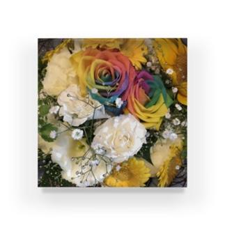 送別会の花 Acrylic Block