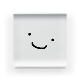 かお Acrylic Block