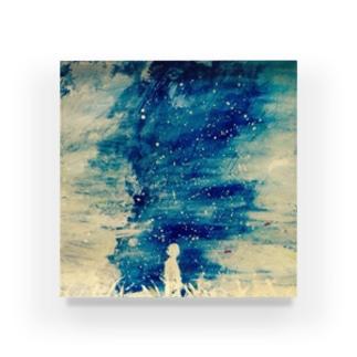 star,human Acrylic Block
