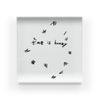 TimeIsHoney-Misty Acrylic Block
