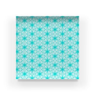 幾何学的な何か Acrylic Block