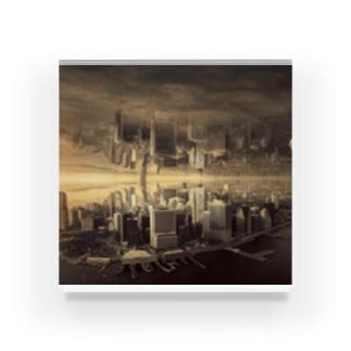 反転した街 Acrylic Block