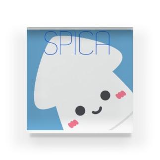 なんとなくイカ@Spicaのspicaイカ Acrylic Block
