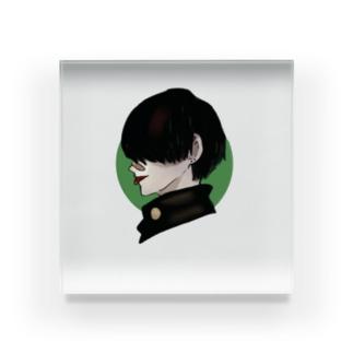 黒髪やんきーくん(仮) Acrylic Block