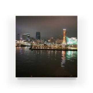 港の夜景 Acrylic Block