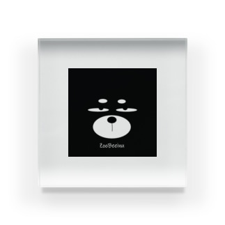 ZooBeeinu フェイス Acrylic Block