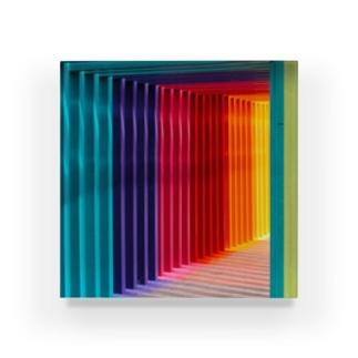 カラフルなゲート Acrylic Block