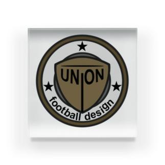 union football design Acrylic Block