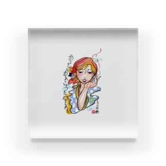 恋歌さん Acrylic Block