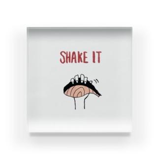 SHAKE (鮭) シリーズ Acrylic Block