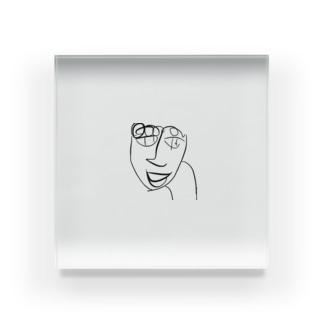 ほんなら!山田くん! Acrylic Block