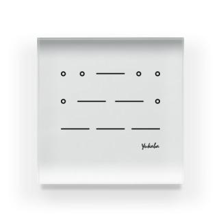 yukaba [トツレ連送] Acrylic Block