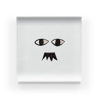 髭おじさん Acrylic Block