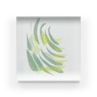 カラフル スタック 2 Acrylic Block
