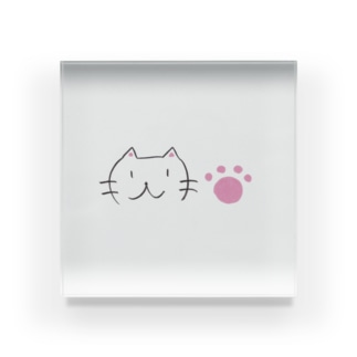 筆猫 Acrylic Block