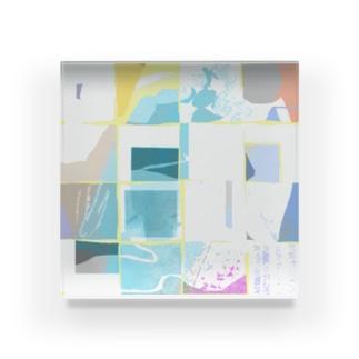 夏のかたち Acrylic Block