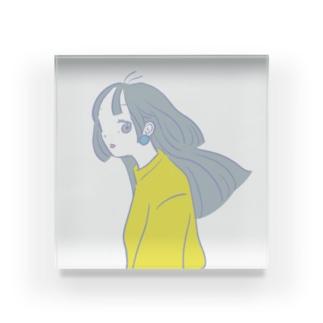 haikara girl Acrylic Block