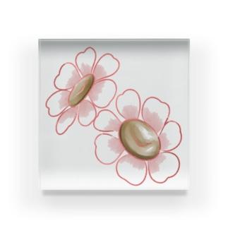 Liangの小花 Acrylic Block