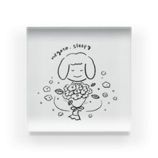 花束ねごとちゃん Acrylic Block