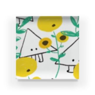 かくれんぼ Acrylic Block