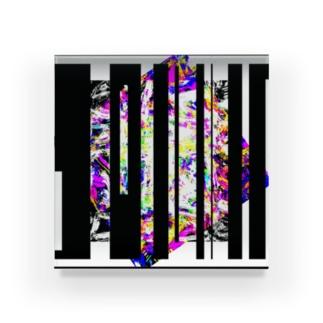 Psychic.Cube. Acrylic Block