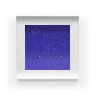 宇宙柄✩.*˚ Acrylic Block