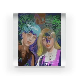 ヘンゼルとグレーテル Acrylic Block