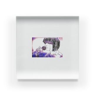 singingirl 2 Acrylic Block