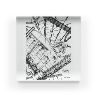 dizzing Acrylic Block