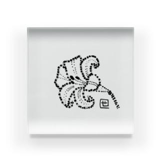百合の花 Acrylic Block