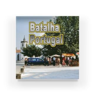 ポルトガル:バタリャの風景 Portugal: Batalha Acrylic Block