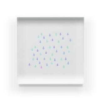 雨柄スマホケース Acrylic Block