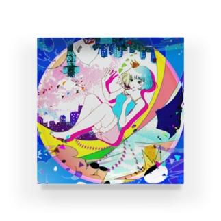 思春期ガール Acrylic Block
