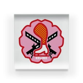 原田専門家のパ紋No.3424 CELINE  Acrylic Block