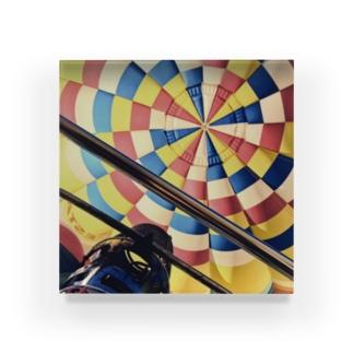 気球 Acrylic Block
