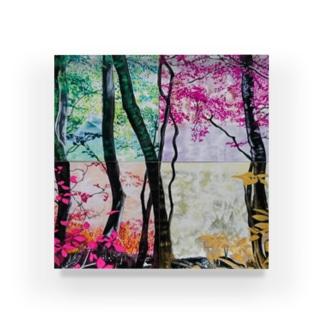 4つの景色 Acrylic Block