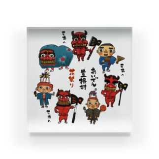 花祭り Acrylic Block
