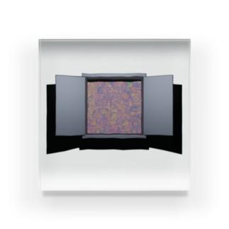 扉 Acrylic Block