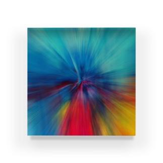 放射状 #1 Acrylic Block